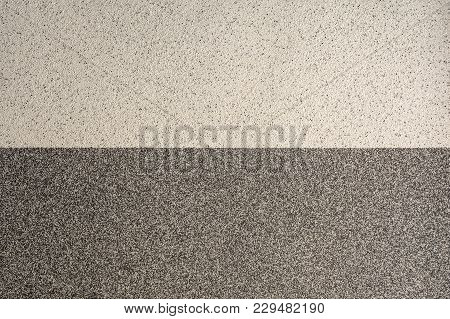 Texture Of A Concrete Wall, Layer Of Decorative Plaster