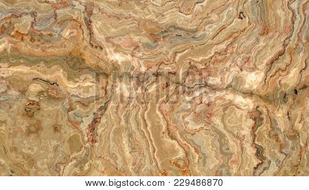 Honey Onyx Abstract Beautiful Tile. Texture For Design. 2d Illustration. Natural Beauty