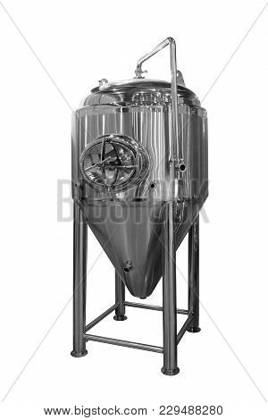 Distiller Tank Extractor Isolated On A White Background
