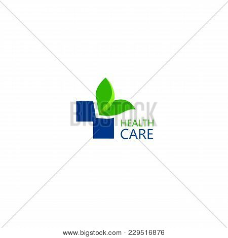 Logo For The Clinic, Pharmaceutical Company. Logo Of The Family Doctor, First Aid. Health And Medica