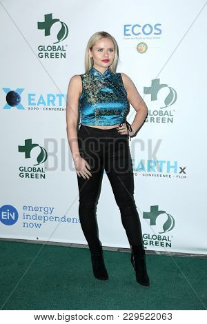 LOS ANGELES - FEB 28:  Alli Simpson at the 15th Annual Global Green Pre-Oscar Gala at the NeueHouse on February 28, 2018 in Los Angeles, CA