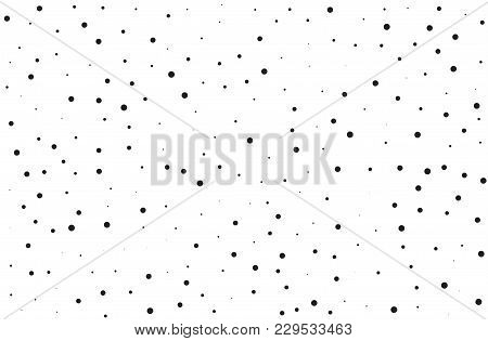 Splatter Background. Black Glitter Blow Explosion And Splats On White. Grunge Texture. Abstract Grai