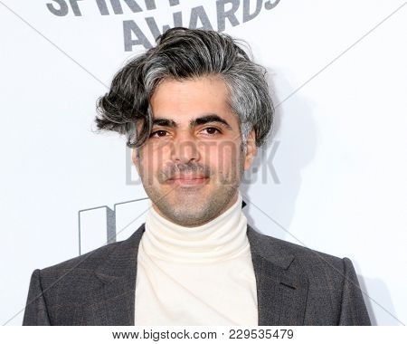 LOS ANGELES - MAR 3:  Feras Fayyad at the 2018 Film Independent Spirit Awards at the Beach on March 3, 2018 in Santa Monica, CA