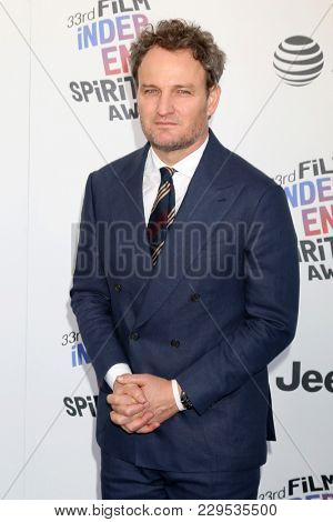 LOS ANGELES - MAR 3:  Jordan Clarke at the 2018 Film Independent Spirit Awards at the Beach on March 3, 2018 in Santa Monica, CA