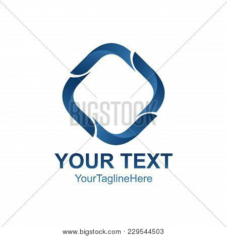 Abstract 3D Vector Icon Such Logos Template Element. Vector Illustration