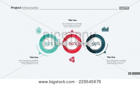 Implementation Infographics Slide Template. Business Data. Graph, Diagram, Design. Creative Concept