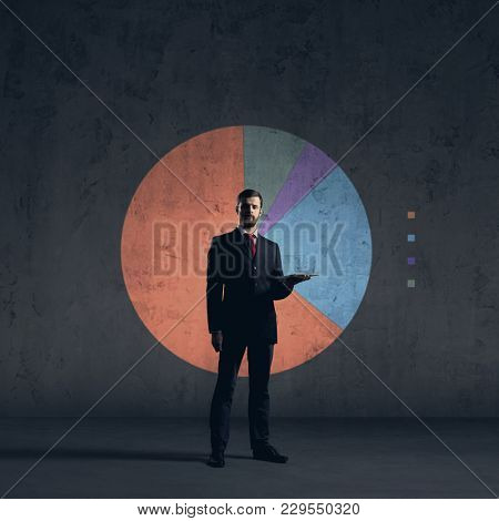 Businessman. Business, office and financial concept.