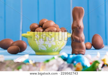 Expanded Chocolate Easter Eggs