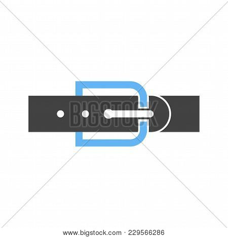 Belt, Leather, Buckle Icon Vector Image. Can Also Be Used For Clothes And Fashion. Suitable For Web