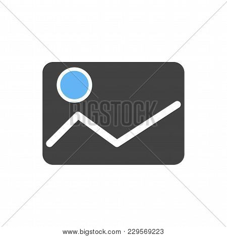 Screen, Image, Picture Icon Vector Image. Can Also Be Used For Multimedia. Suitable For Use On Web A