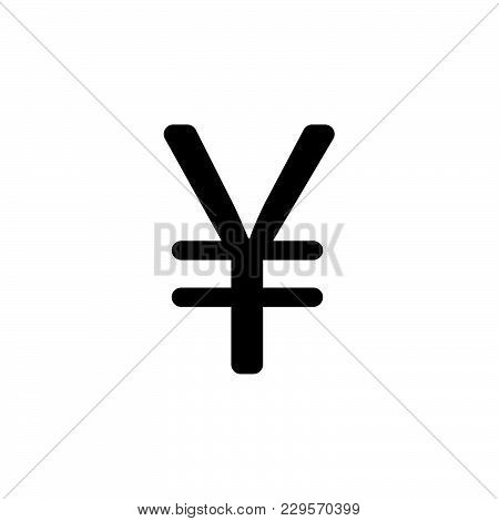 Chinese Yuan Icon. Vector Illustration. Symbol (sign)