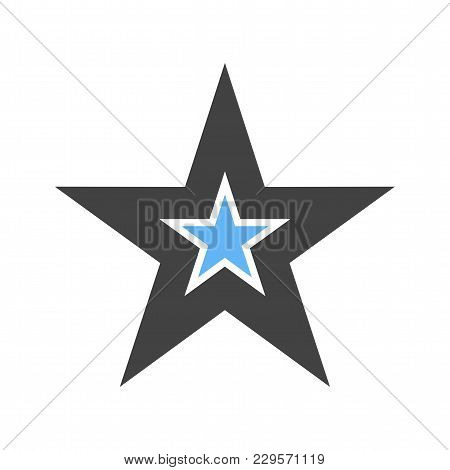 Star, Favorite, Best Icon Vector Image.can Also Be Used For User Interface. Suitable For Mobile Apps