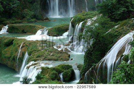 Waterfall inVietnam