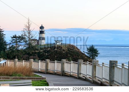 North Head Lighthouse, Cape Disapointment State Park, Washington State