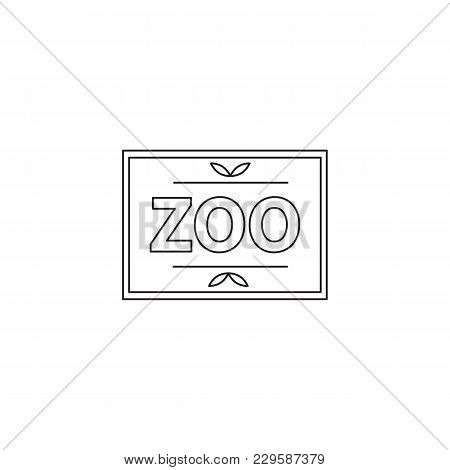 Zoo Vector Thin Line Vector & Photo (Free Trial) | Bigstock