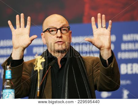Steven Soderbergh attends the 'Unsane' press conference during the 68th Film Festival Berlin at Grand Hyatt Hotel on February 21, 2018 in Berlin, Germany.