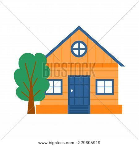 Vector Cartoon Rent Vacation House