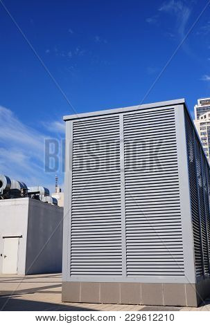 Industrial Air Conditioning And Ventilation Systems Outdoor