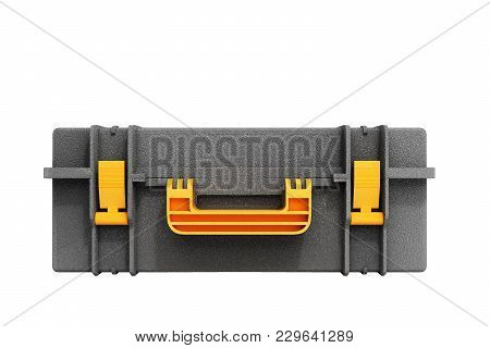 Tools Case 3d Render On White Background No Shadow