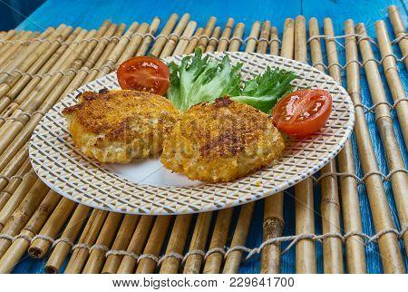 Acadian Salt Cod Fish Cakes  From Prince Edward Island.canadian Food