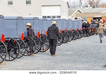 Amish Zcheck Buggies Before Sale