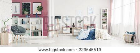 Spacious Bedroom Interior