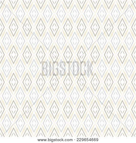 Abstract Geometric Patern With Rhombuses. A Seamless Vector Background. Color Texture. Graphic Moder