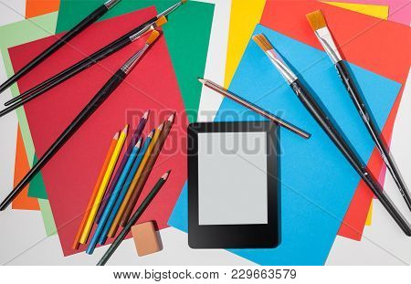 Artistic Learning Workspace, An Ebook To Learn About What To Create And How To Develop An Art Or Des