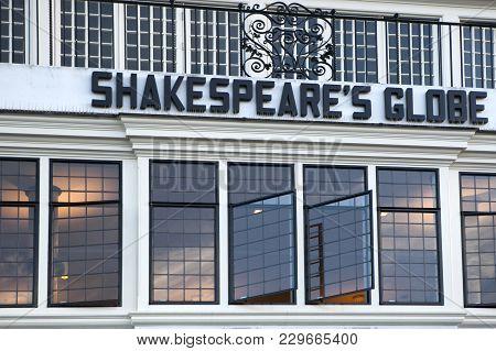 London - September  17, 2016. The International Shakespeare Globe Centre