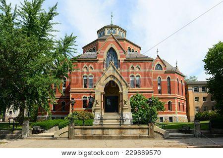 Robinson Hall In Brown University, Providence, Rhode Island, Usa.