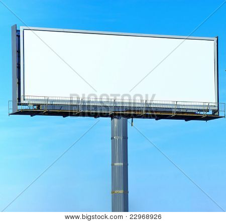 Street Board Billboard Copyspace Giant Poster