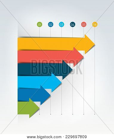 Chart, Graph, 3d Style. Infographics Element. Vector Illustration.