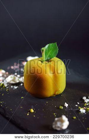 fruit marzipan cake