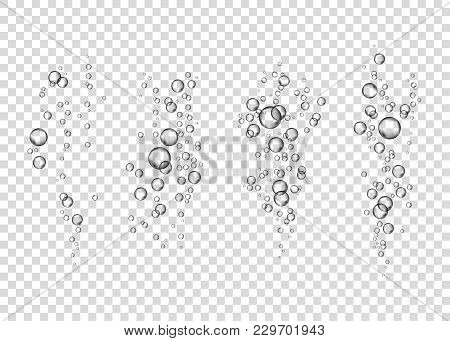 Sparkling Water Vector Texture.