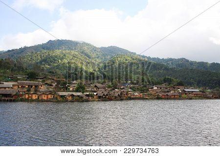 Ban Rak Thai, A Chinese Settlement In Mae Hong Son At Thailand