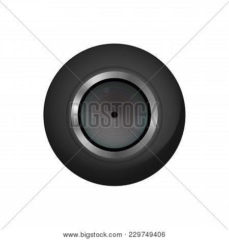 Micro Camcorder. Hidden Camera Recorder. Vector Illustration