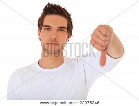 Negative gesture