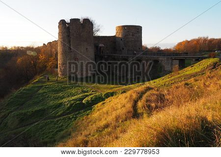 Ancient Medieval Fortress. The Fortress In Koporye Was Founded In 1237 - Is Located In The Leningrad