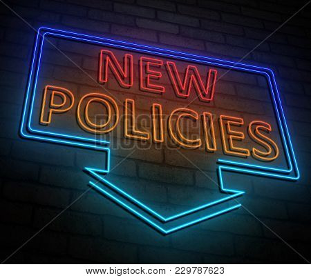 New Policies Concept.