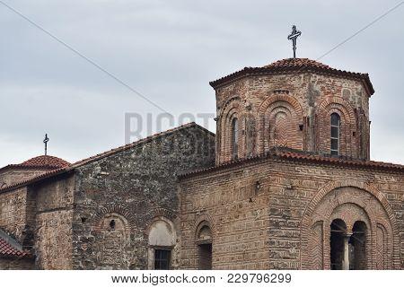 Old Orthodox Church Saint Sophia In Ohrid