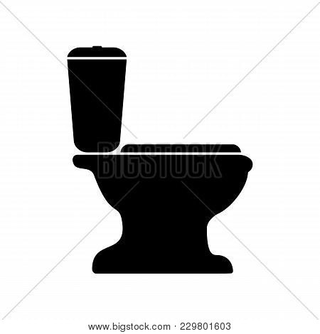 Sign Of The Toilet. A Simple And Original Vector Illustration.