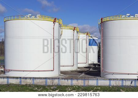 Gas And Petrol Industrial Warehouse In Spain