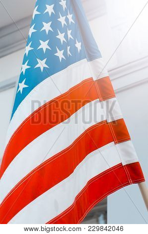 Usa American Flag Background Texture.usa American Flag Background Texture. American Independence Day