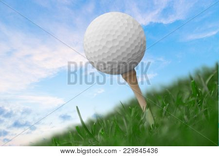 Ball Golf Game Sport Leisure Color Activity