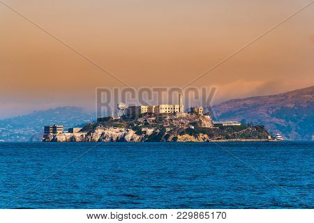 Alcatraz Island, San Francisco, California  Facilities For A Lighthouse, A Military Fortification, A