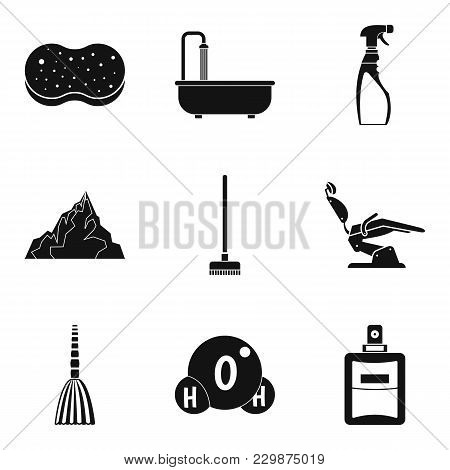 Body Care Icons Set. Simple Set Of 9 Body Care Vector Icons For Web Isolated On White Background