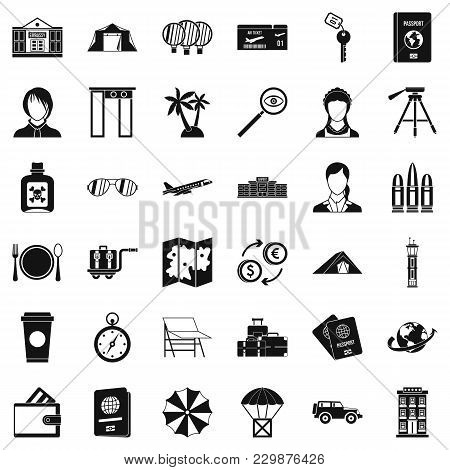 Certification Icons Set. Simple Set Of 36 Certification Vector Icons For Web Isolated On White Backg