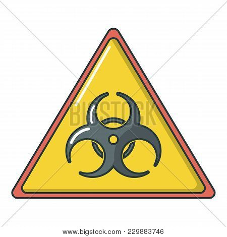 Caution Icon. Cartoon Illustration Of Caution Vector Icon For Web
