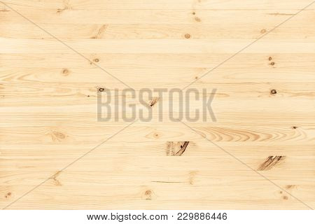 Natural Light Colored Wood Texture Background Viewed From Above. Use This Clean Wooden Textured Mate