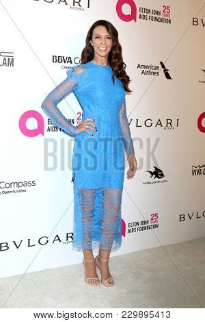 LOS ANGELES - MAR 4:  Terri Seymour at the 2018 Elton John AIDS Foundation Oscar Viewing Party at the West Hollywood Park on March 4, 2018 in West Hollywood, CA